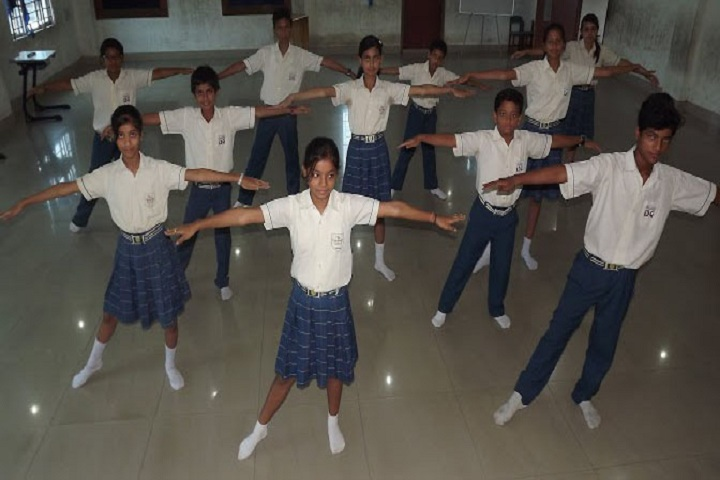 International School Guwahati-Dance Room