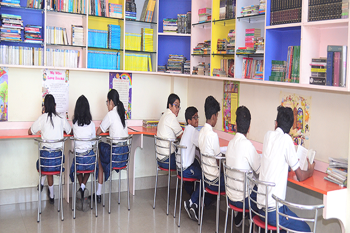 International School Guwahati-Libary