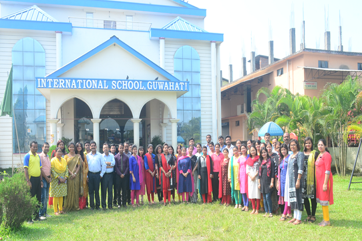 International School Guwahati-Staff