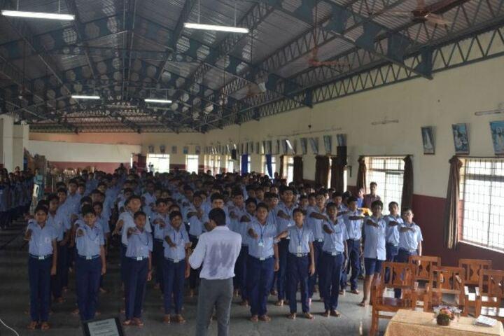 Sharada Vidya Nikethan Public School-Assembly