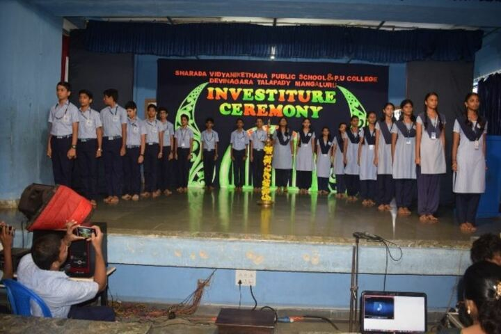 Sharada Vidya Nikethan Public School-Investiture-Ceremony