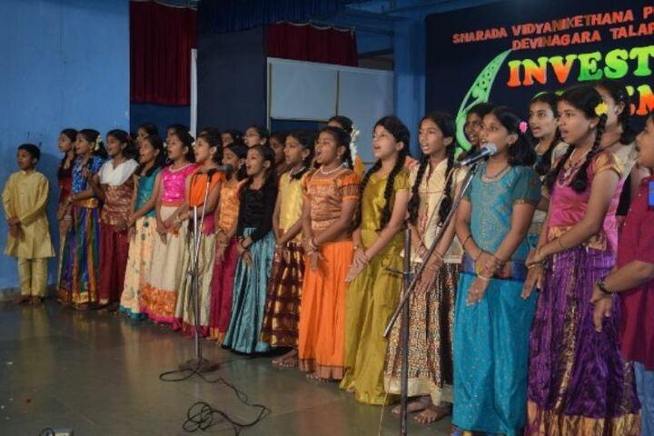 Sharada Vidya Nikethan Public School-Singing