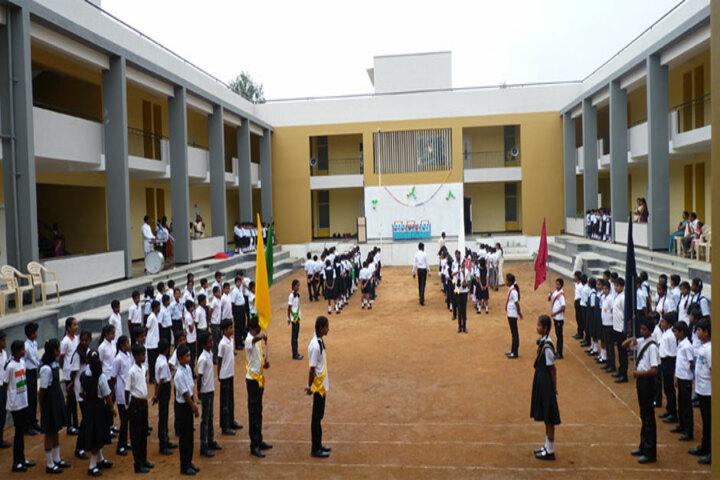 Shree Basaveshwara Primary School-Assembly