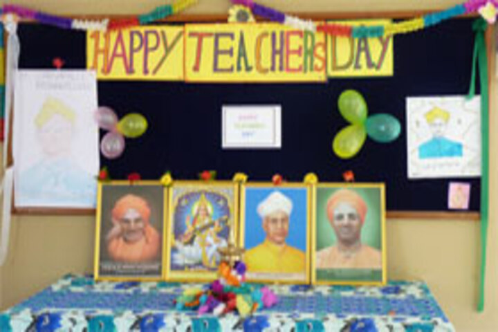 Shree Basaveshwara Primary School-Teachers Day