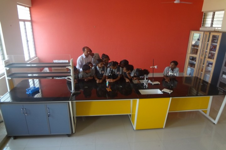 Shri B T Patil Memorial Nandi International Residential School-Biology Lab