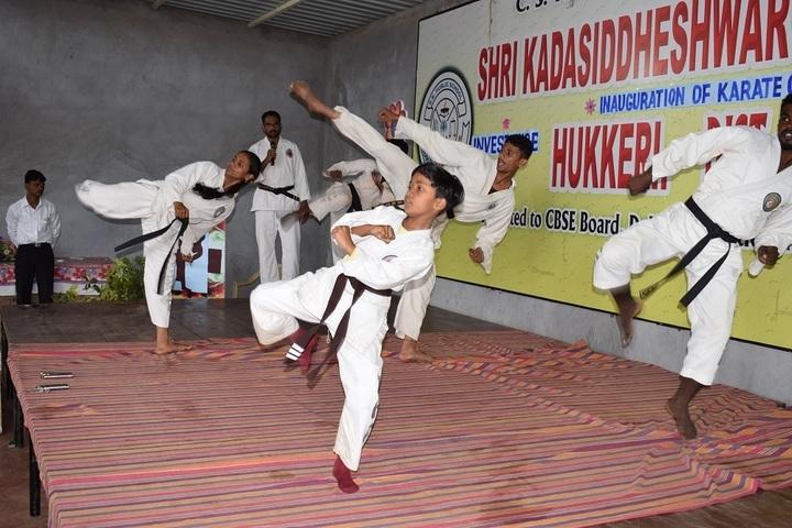 Shri Kadasiddheshwar Public School-Karate