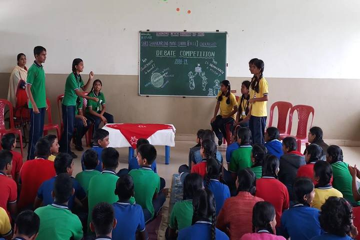 Shri Shankarling Model School-Debate Competition