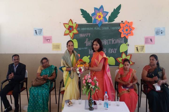 Shri Shankarling Model School-International Womens Day Celebration
