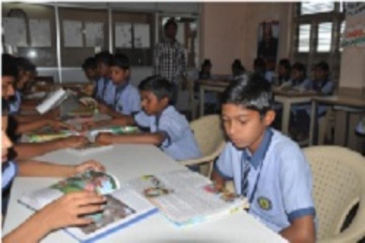 Siddha Bharati Vidya Mandir School-Library