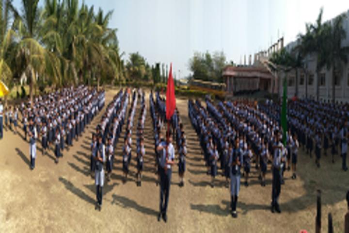 Siddha Bharati Vidya Mandir School-Morning-Assembly