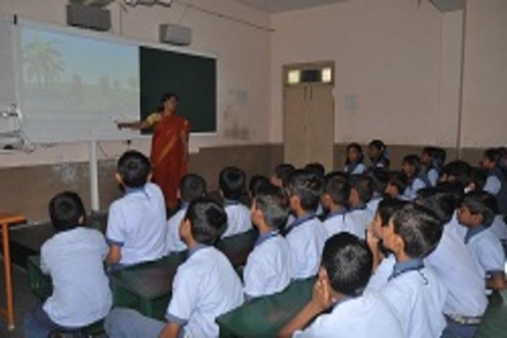 Siddha Bharati Vidya Mandir School-Smartclass