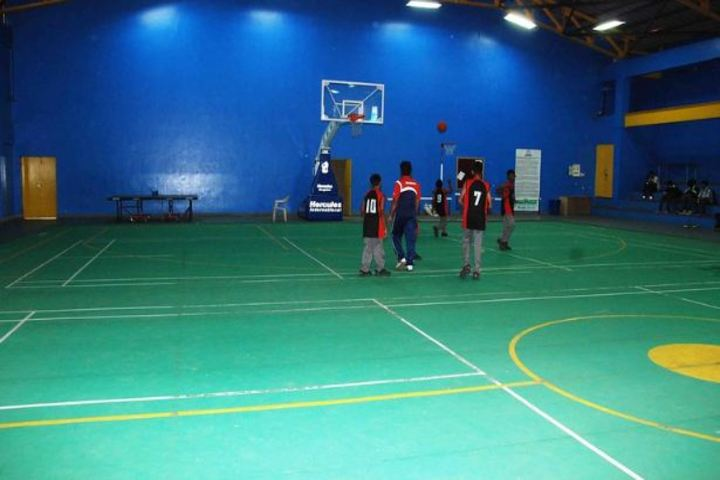 Sindhi High School-Basket-Ball-Court