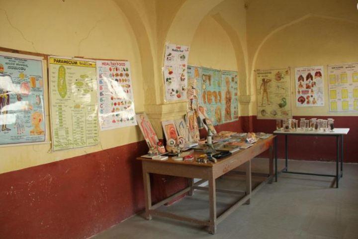 Sir M Vishweshwarayya Primary School-Biology Lab