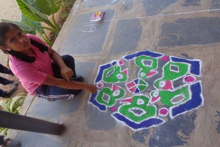 Sir M Vishweshwarayya Primary School-Rangoli Competition