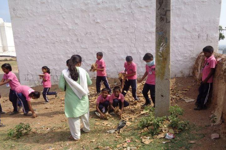 Sir M Vishweshwarayya Primary School-Swach Barath