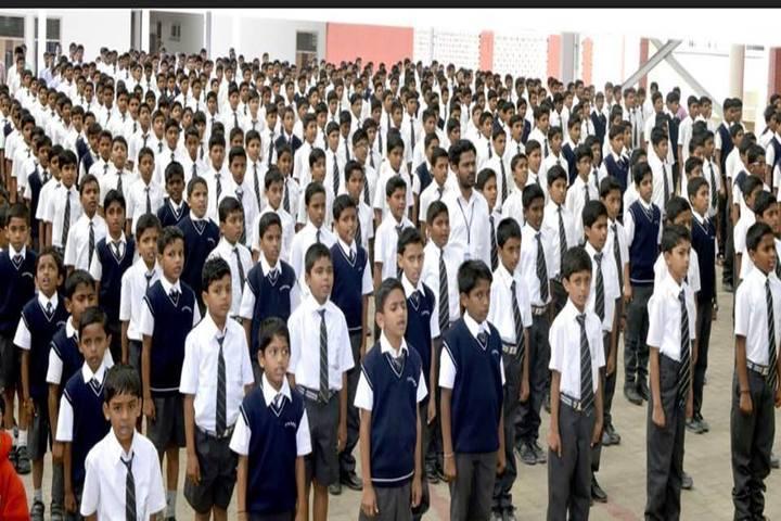 Smt P S Shivashankarappa English Medium Residential School-Assembly