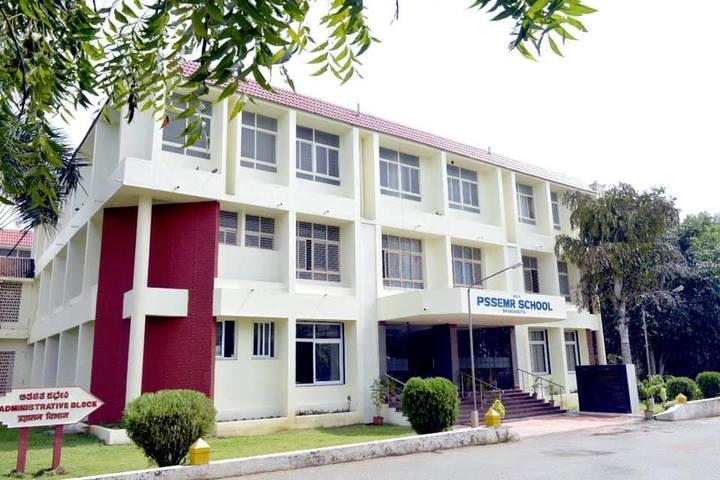 Smt P S Shivashankarappa English Medium Residential School-Campus Front View