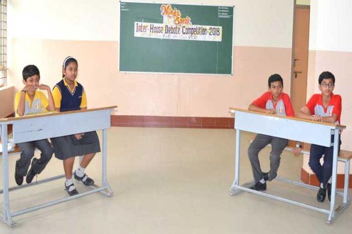 Smt P S Shivashankarappa English Medium Residential School-Debate