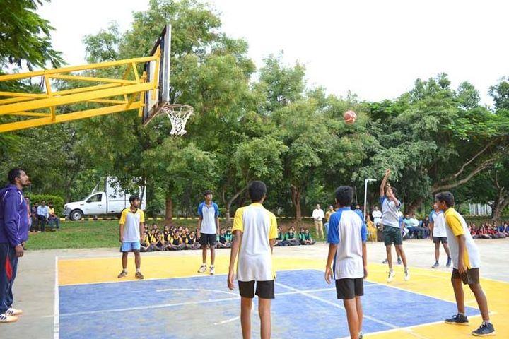 Smt P S Shivashankarappa English Medium Residential School-Playground
