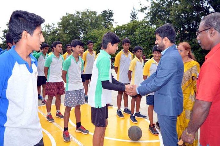 Smt P S Shivashankarappa English Medium Residential School-Sports