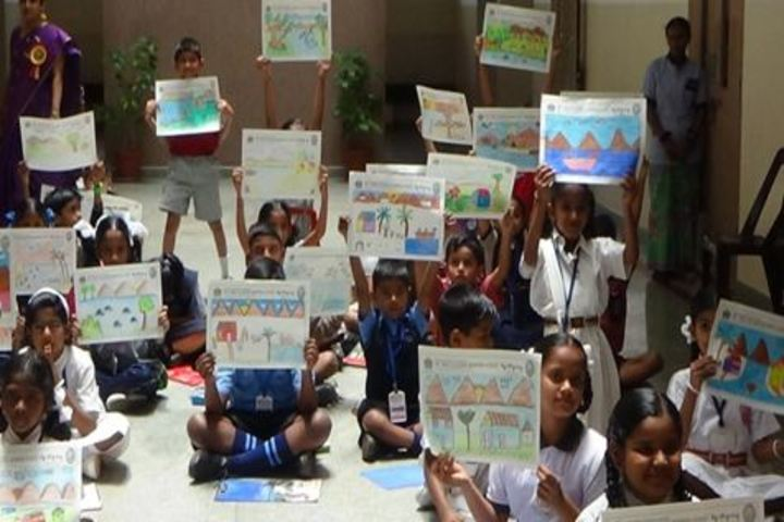 Smt Vimala Kulkarni Memorial School-Drawing Competition