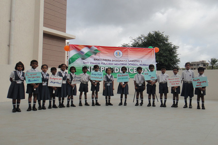 Smt Vimala Kulkarni Memorial School-Independence Day