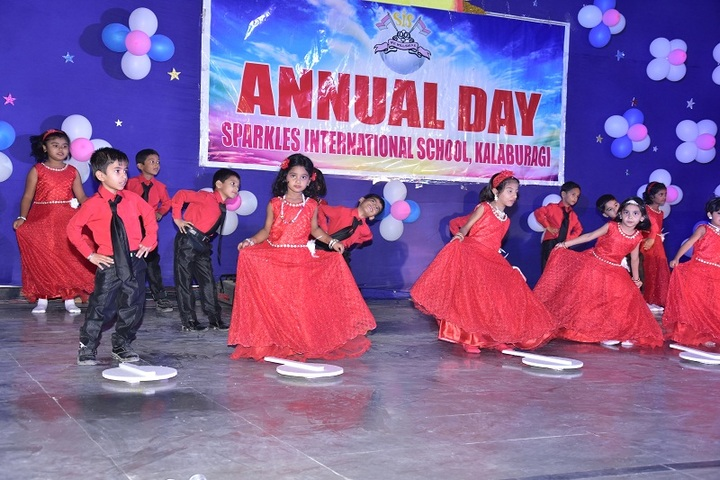 Sparkles International School-Dance