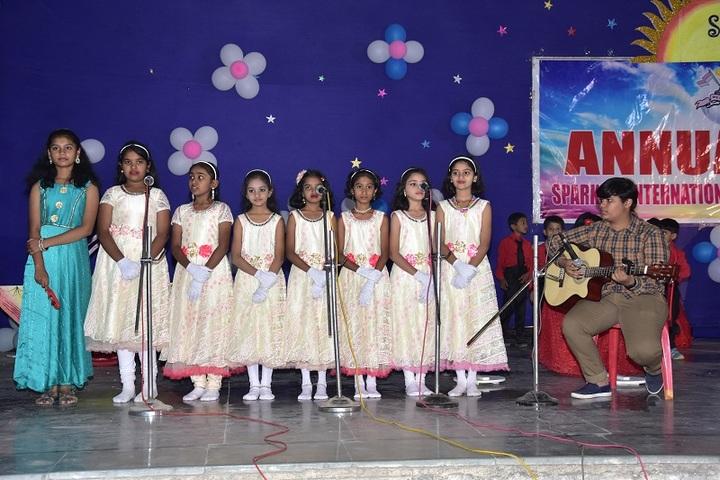 Sparkles International School-Singing
