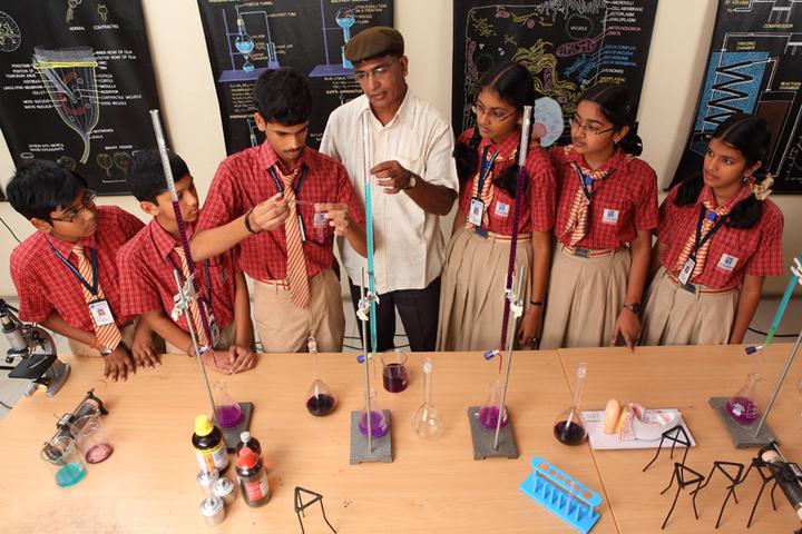 Sri Chaitanya Techno School-Biology Lab