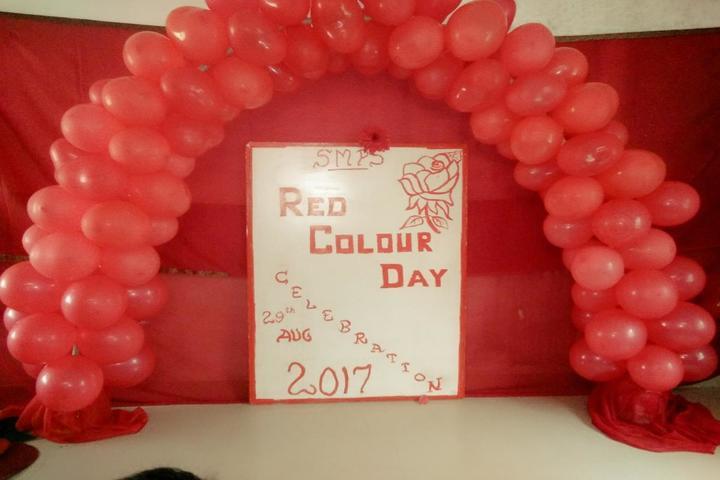 Sri Mookambika Public School-Red Colour Day