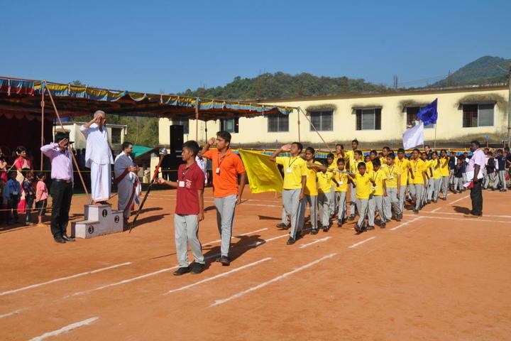 Sri Mookambika Public School-Sports Day