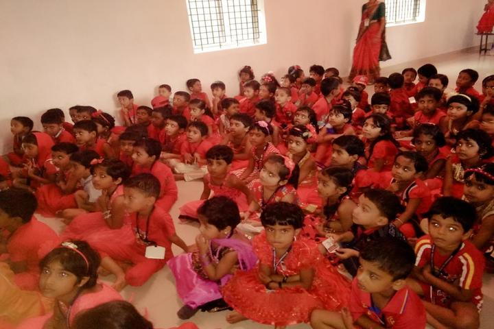 Sri Mookambika Public School-Students