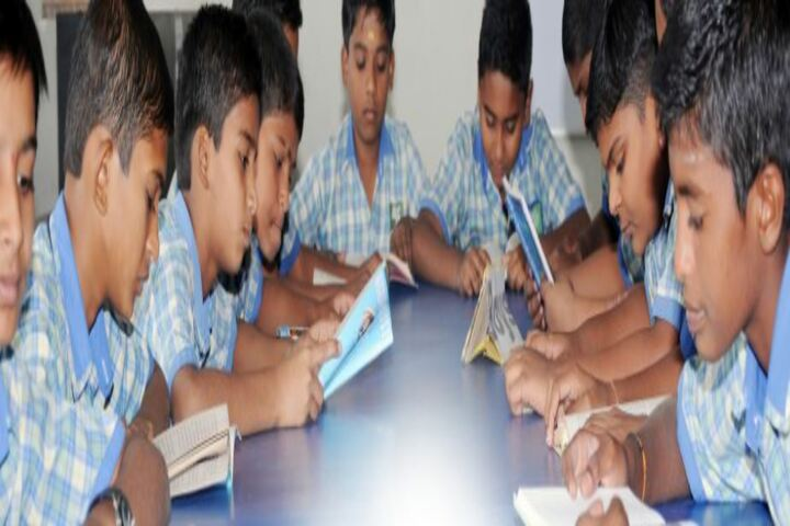 Sri Renuka Fondation School-Library