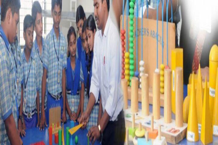 Sri Renuka Fondation School-Maths Lab