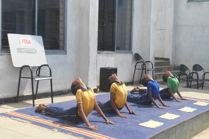 Sri Renuka Foundation School-Yoga