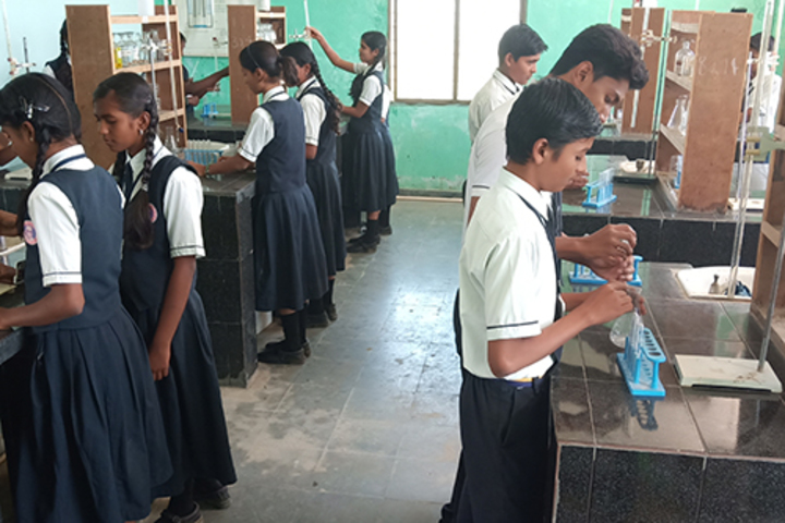 Sri Sai Vidyaniketan Residential School-Chemistry Lab