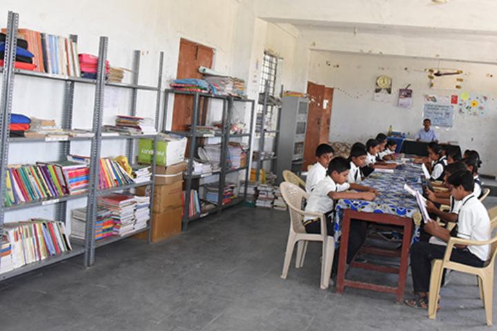 Sri Sai Vidyaniketan Residential School-Library