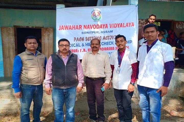 Jawahar Navodaya Vidyalaya-  Health check up