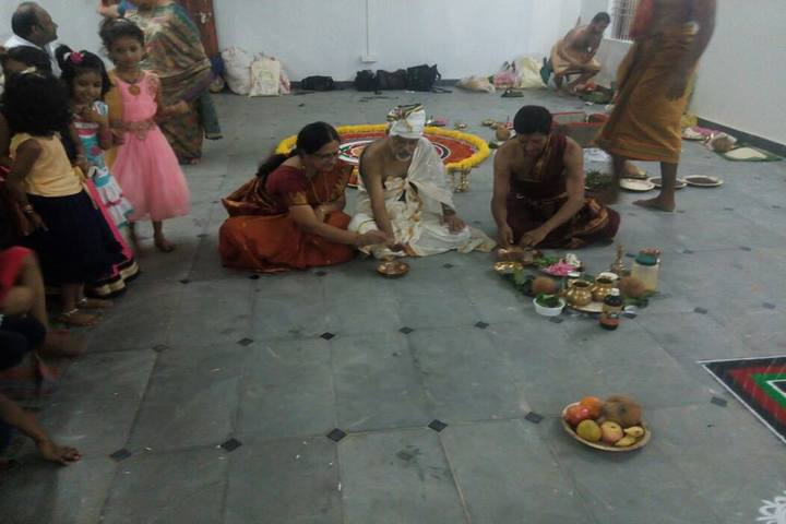Sri Sri Ravishankar Vidya Mandir-Festival celebration