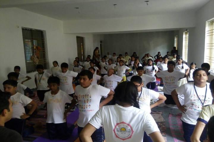 Sri Sri Ravishankar Vidya Mandir-Yoga Day