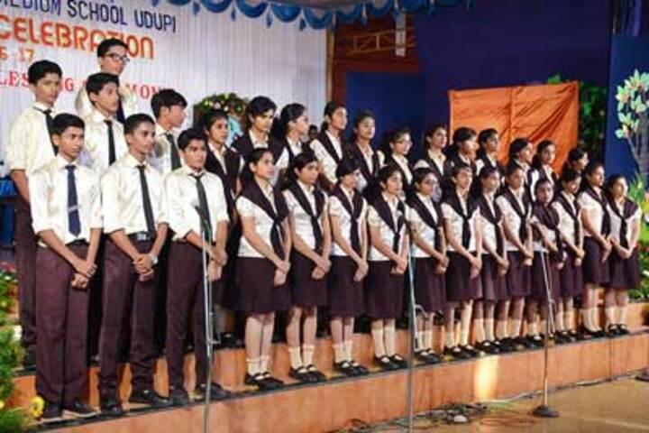 St Marys English Medium School-Singing