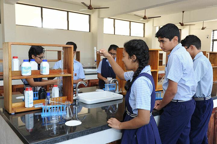 St Aloysius Gonzaga School-Chemistry lab