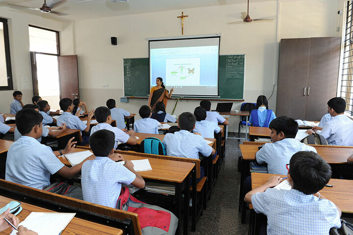 St Aloysius Gonzaga School-Smart Classroom