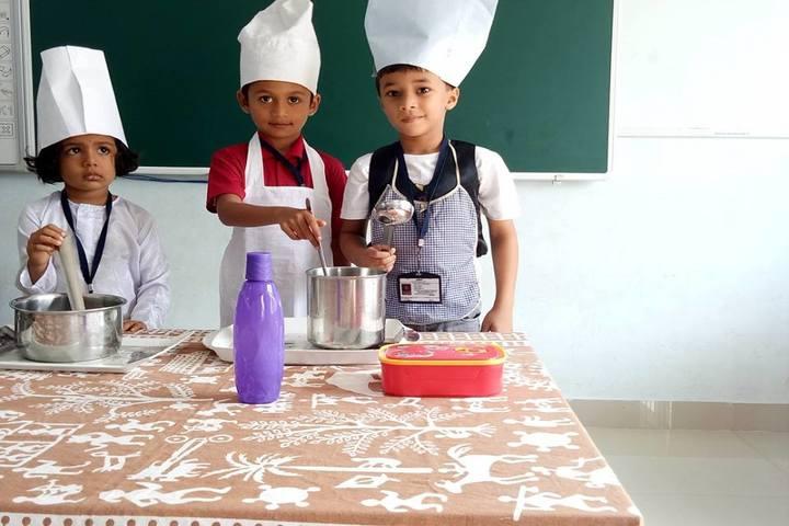 The Cambridge International School-Cooking Activity