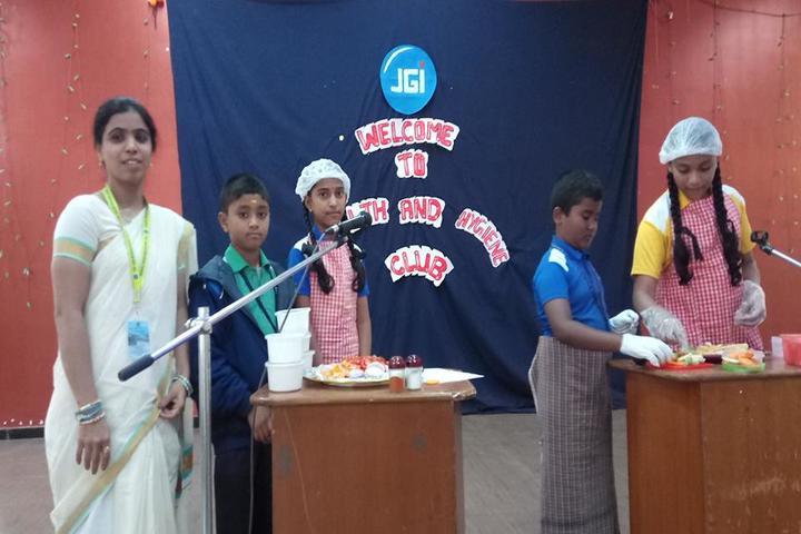 The Jain International School-Cooking Activity