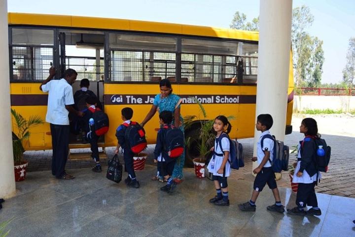 The Jain International School-Transport