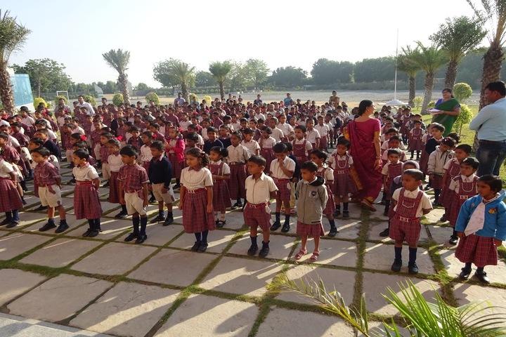 Vicat Dav Vidya Mandir-Assembly