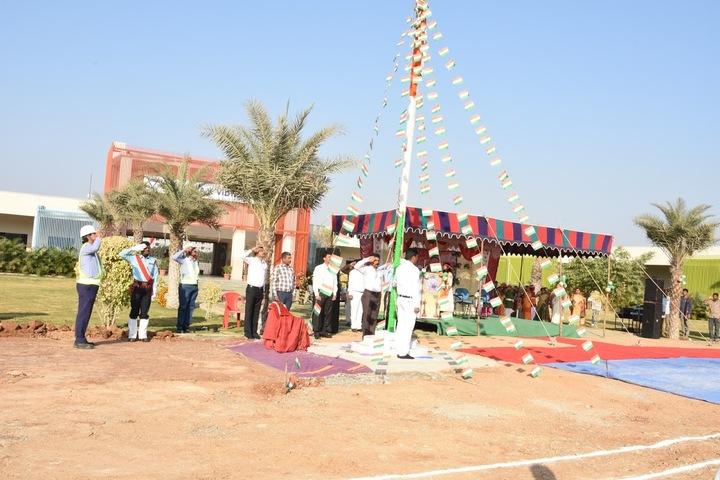 Vicat Dav Vidya Mandir-Flag Hosting