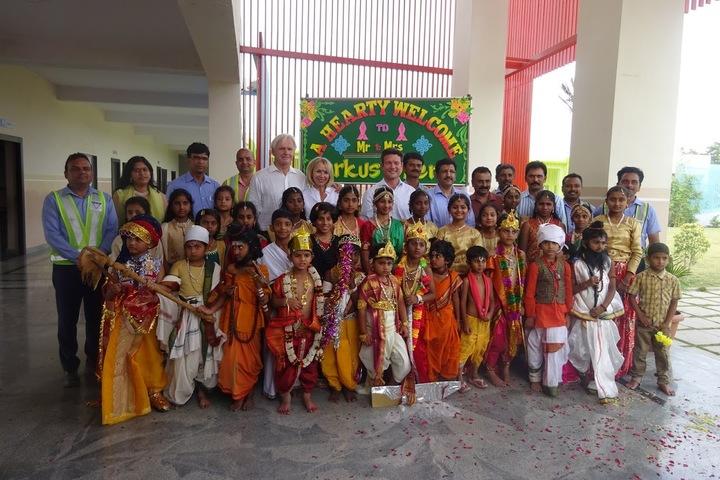 Vicat Dav Vidya Mandir-Krishnastami Celebrations