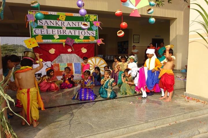 Vicat Dav Vidya Mandir-Sankranthi Celebrations